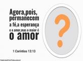 1 Coríntios 13:13
