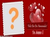 Dia dos Namorados Feliz Moldura