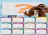 Calendário 2019 Pets A vida secreta dos Pets
