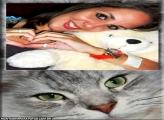 Moldura Gato Lindo