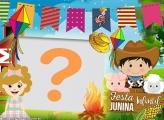Festa Junina Infantil Montar Fotos