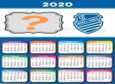 Calendário 2020 Alagoano CSA União e Força Moldura