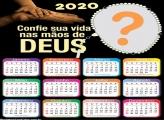 Foto Montagem Grátis Calendário 2020 Deus