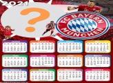 Calendário 2021 Bayern Munchen Futebol