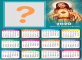 Foto Moldura Calendário 2020 de Jesus