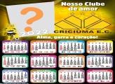 Moldura Fotos com Calendário 2022 Criciúma