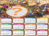 Calendário 2021 Clash Royale Montagem Foto On Line
