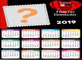 Calendário 2019 Flamengo Time do Coração