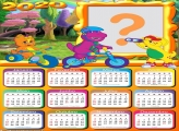 FotoMoldura Calendário 2020 Barney