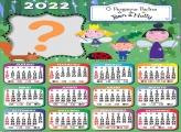 Calendário 2022 Ben e Holly com Foto Montagem