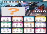 Calendário 2020 do Free Fire Online