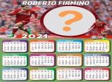 Grade de Calendário 2021 Roberto Firmino