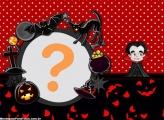 Halloween Vampiro Moldura