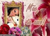 Quadro Moldura Dia das Mães