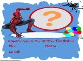 Convite Aniversário do Homem Aranha