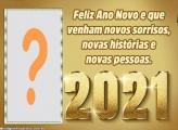 Foto Montagem Feliz Ano Novo 2021