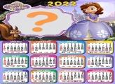 Colagem Calendário 2022 Princesinha Sofia Online