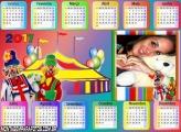 Calendário 2017 Circo dos Palhaços