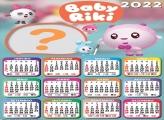Calendário 2022 Baby Riki Criar Online