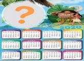 Calendário 2020 Chefe Tui e Moana