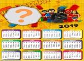 Calendário 2019 Batman Lego