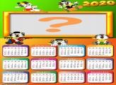 Calendário 2020 Tigor T Tigor Moldura Online
