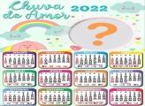 Calendário 2022 Chuva de Amor Colagem