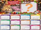 Calendário 2021 com Foto Grátis de Natal
