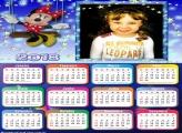 Calendário 2018 da Minnie Disney