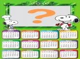 Calendário 2019 Snoopy