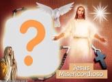 Foto Montagem de Jesus Misericordioso