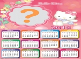 Calendário 2019 Hello Kitty Baby
