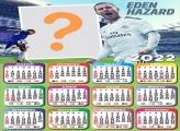 Calendário 2022 Real Madrid Moldura Online