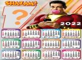 Calendário 2022 Shazam para Fotos Grátis