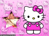 Estrelinha Hello Kitty Moldura