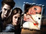 Edward e Bella Amor Perfeito Moldura