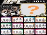 Calendário 2022 UFC Colar Foto e Imprimir