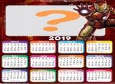 Calendário 2019 Iron Man