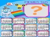 Calendário 2022 Fidget Toy Online