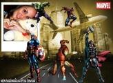 Moldura Os Vingadores Marvel