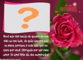 Mensagem Dia dos Namorados com Foto