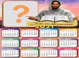 Calendário 2021 Jesus em Tua Presença Juntar Fotos