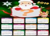 Calendário 2019 do Papai Noel