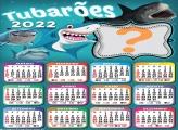 Calendário 2022 Tubarões Colar Foto e Imprimir