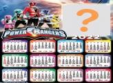 Calendário 2022 Power Rangers Fazer Online