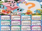 Calendário 2022 Online Gumball Infantil