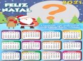 Fazer Calendário com foto Feliz Natal 2021