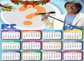 Calendário 2021 do Rei Roberto Carlos de Natal