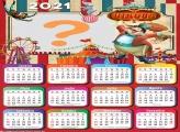 Calendário 2021 Circus