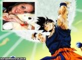 Goku formando Genki Dama
